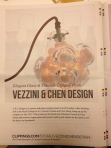 Vezzini & Chen design on Clippings .com